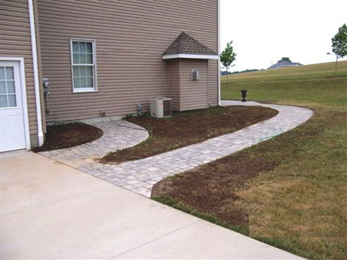 Paver Walkways, Nature Trails, Gravel Paths